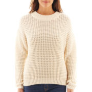 MNG by Mango® Long-Sleeve Shaker-Stitch Sweater