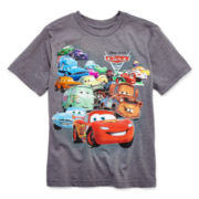 Disney Collection Cars Short-Sleeve Graphic Tee – Boys 2-12