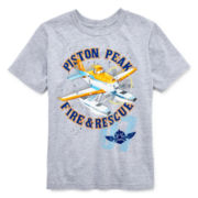 Disney Collection Planes Short-Sleeve Graphic Tee – Boys 2-12