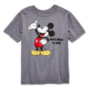 Disney Collection Mickey Mouse Short-Sleeve Graphic Tee – Boys 2-12
