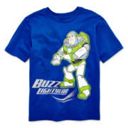 Disney Collection Buzz Lightyear Short-Sleeve Graphic Tee – Boys 2-12