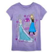 Disney Frozen Short-Sleeve Graphic Tee – Girls 2-10