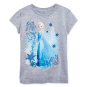 Disney Collection Frozen Short-Sleeve Graphic Tee – Girls 2-10