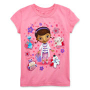 Disney Collection Doc McStuffins Short-Sleeve Graphic Tee – Girls 2-12