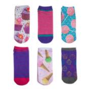 Mixit™ 6-pk. No-Show Socks