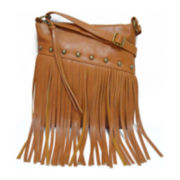 Arizona Jenna Fringe Crossbody Bag