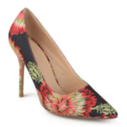 Journee Collection Pointed Toe Pumps