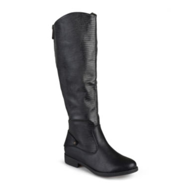 jcpenney.com | Journee Collection Sleek Wide-Calf Riding Boots