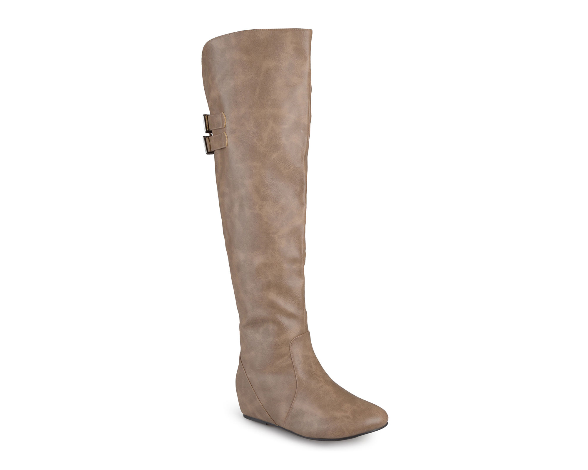 Journee Collection Angel Over-the-Knee Riding Boots-Wide Calf