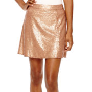 Decree® Sequin Skater Skirt