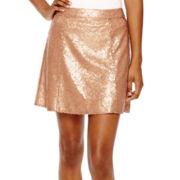 Decree® Sequin Skater Skirt