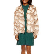 Decree® Faux-Fur Jacket or Skater Dress