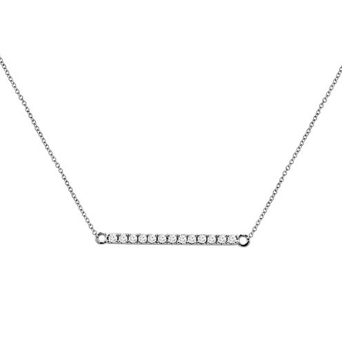 LIMITED QUANTITIES 1/4 CT. T.W. Diamond Line Necklace