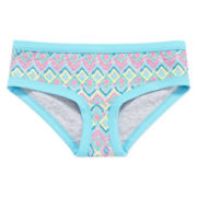 Total Girl® Tribal-Print Hipster Panties - Girls 4-16