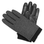 Stafford® Thinsulate™ Knit Herringbone Texting Gloves