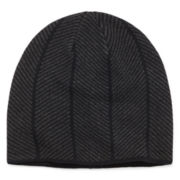 JF J. Ferrar® Knit Chevron Stripe Beanie