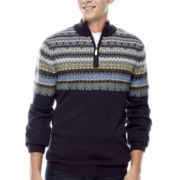 i jeans by Buffalo Lexington Half-Zip Sweater