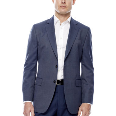 jcpenney.com | Stafford® Travel Year-Round Blue Tic Sport Coat