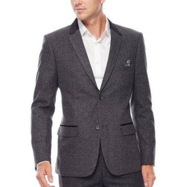 jcpenney.com | WD.NY Charcoal Twill Suit Jacket - Slim Fit