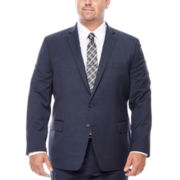 Claiborne® Blue Neat Suit Jacket - Big & Tall