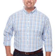 Dockers® Long-Sleeve Roadmap Plaid Shirt - Big & Tall