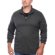IZOD® Quarter-Zip Pullover - Big & Tall