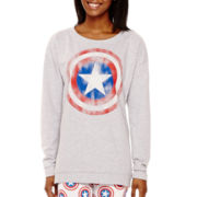 Marvel® Long-Sleeve Captain America Sweatshirt