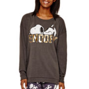 Peanuts Long-Sleeve Snoopy Sweatshirt