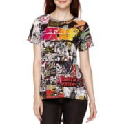 Star Wars™ Short-Sleeve High-Low T-Shirt
