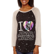 Star Wars™ Raglan-Sleeve Graphic T-Shirt
