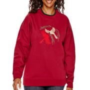 MCCC Sportswear Long-Sleeve Holiday Fleece Sweater