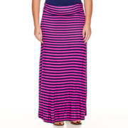 St. John's Bay® Column Maxi Knit Skirt - Plus