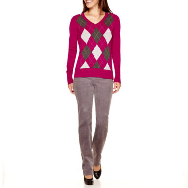 jcpenney.com | St. John's Bay® Argyle Sweater or Corduroy Pants