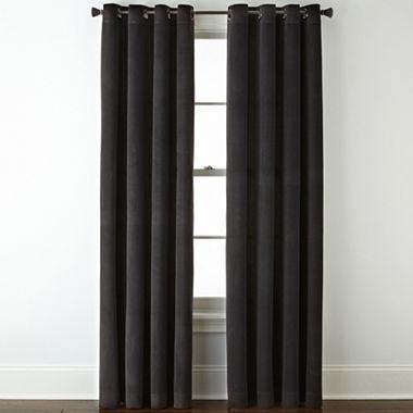 Studio Athens Velvet Grommet Top Curtain Panel Jcpenney