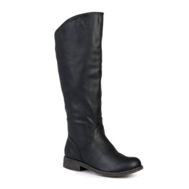 jcpenney.com | Journee Collection Lawren Wide Calf Riding Boots