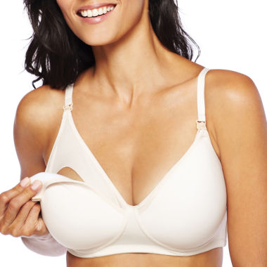 jcpenney.com | Spencer Microfiber Wireless Padded Nursing Bra