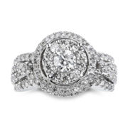 True Love, Celebrate Romance® 2 CT. T. W. Diamond Engagement Ring