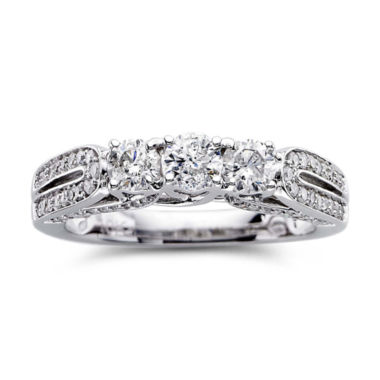 jcpenney.com | Love Lives Forever™ 1 CT. T.W. Diamond 3-Stone Engagement Ring