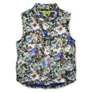 Dreampop® by Cynthia Rowley Print Puffer Vest - Girls 6-16