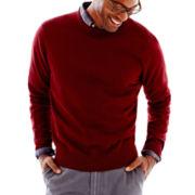 jcp™ Cotton Crewneck Sweater