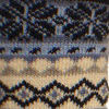 Navy Fairisle