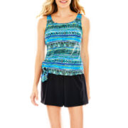 Azul by Maxine of Hollywood Tankini Swim Top or Tricot Shorts