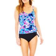 Jamaica Bay® Ruffled Tankini Swim Top or Brief Bottoms
