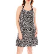 Porto Cruz® Sleeveless Braided Dress Cover-Up - Plus