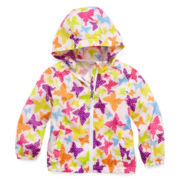 Vertical 9 Packable Windbreaker - Girls 2t-6