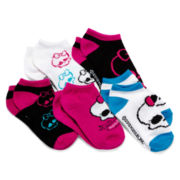 Monster High 5-pk. Low-Cut Socks - Girls