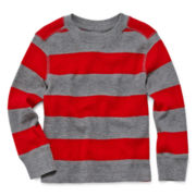 Arizona Long-Sleeve Striped Thermal Tee – Boys 2t-6