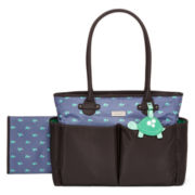 Carter's® Turtle Print Diaper Bag – One Size