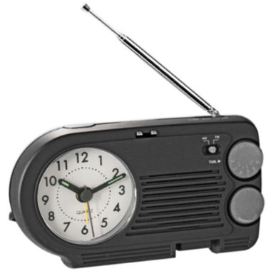 jcpenney.com | Natico AM/FM Radio with Analog Alarm Clock
