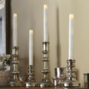 Set of 4 Tapered Flameless LED Candles